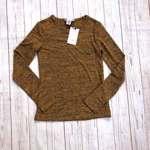 For the Republic Gold and Black size small sweater